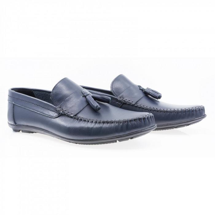 Pantofi barbati Caspian din piele naturala Cas-690-LACI