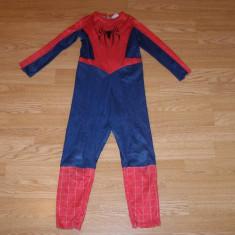 Costum carnaval serbare spiderman pentru copii de 4-5-6 ani, Din imagine
