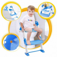 Olita Multifunctionala Copii cu Reductor si Scarita Albastra