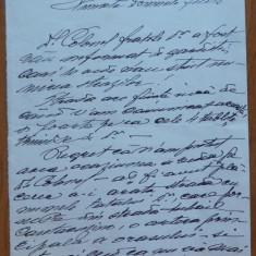Scrisoare Scarlat Doicescu catre Filitti , Calarasi , 1931