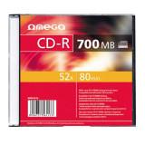 Mediu optic Omega CD-R 700MB 52x 1 bucata
