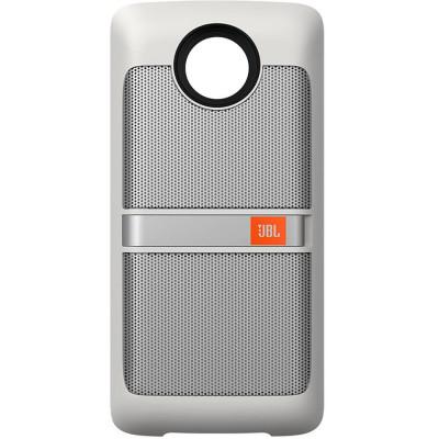 Boxa portabila JBL Sound Boost Moto Mods White foto