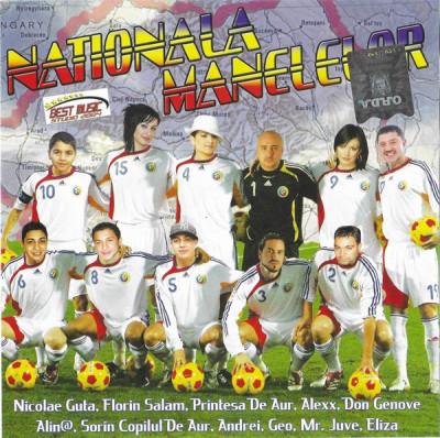 CD Naționala Manelelor, original, manele: Florin Salam, N. Guta, Copilul de Aur foto