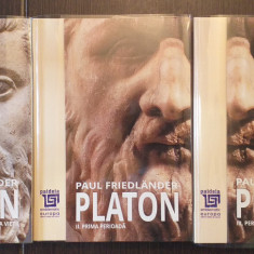 PLATON - OPERELE PLATONICE - 3 VOLUME - PAUL FRIEDLANDER