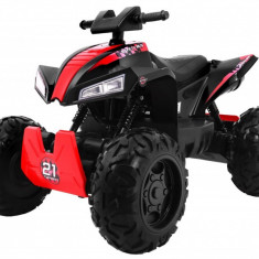 Quad electric Sport Run 4x4, negru