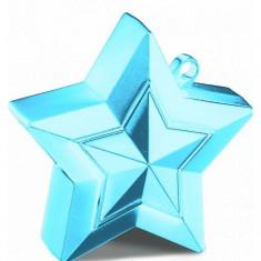 Greutate baloane cu heliu stea bleu 150 gr