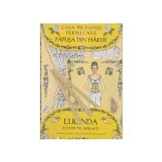Papusa din hartie Lucinda