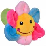 Jucarie zornaitoare,model floare, 12cm, cu sunete, multicolor