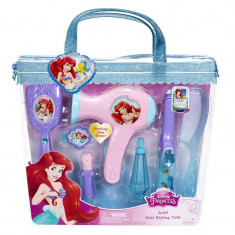 Set de coafura Printese Disney Ariel, 34 x 30 x 6 cm, 3 ani+