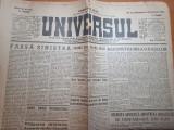 ziarul universul 18 noiembrie 1944-art. regele mihai,hitler si goering.razboiul