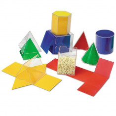 Forme geometrice pliante - 16 piese PlayLearn Toys