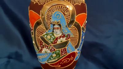 Vază portelan Satsuma foto