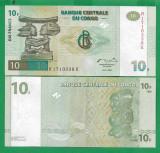 = CONGO - 10 FRANCS - 1997 - UNC   =