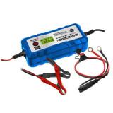 Cumpara ieftin Redresor cu microprocesor 2A/4A, 6V/12V, 4-120Ah,LCD Dedra