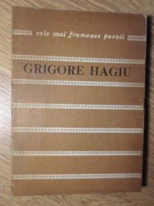 POEME - GRIGORE HAGIU