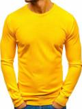Pulover bărbați galben Bolf 2300