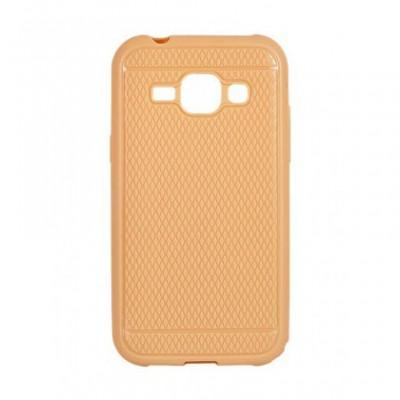 Husa Capac Silicon Viki Samsung G928 Galaxy S6 Edge+ Gold foto