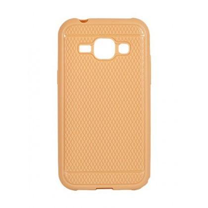 Husa Capac Silicon Viki Samsung G928 Galaxy S6 Edge+ Gold