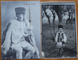 2 carti postale interbelice , costume populare romanesti ; pastor din Poiana