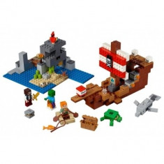 Minecraft Lego The Pirate Ship Adventure 386 piese