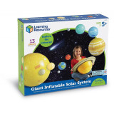 Sistemul solar gonflabil Learning Resources, material foarte rezistent, 5 - 9 ani
