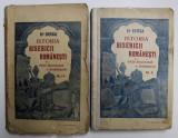 ISTORIA BISERICII ROMANESTI SI A VIETII RELIGIOASE A ROMANILOR , VOLUMELE I - II de N. IORGA , 1908 *VOLUMUL II COTOR REFACUT