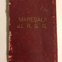 STALIN și MAREȘALII U.R.S.S - album fotografic vechi (anii 50) 22 foto - F. rar!