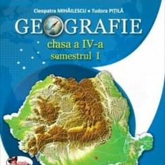 Geografie. Manual clasa a IV-a (partea I+II+CD), Aramis
