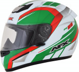 Casca Integrala AFX FX-95 culoare alb/verde/rosu marime L Cod Produs: MX_NEW 01019598PE
