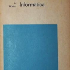 INFORMATICA - JACQUES ARSAC