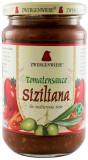 Sos BIO de rosii Sicilian - 340 g ZWERGENWIESE