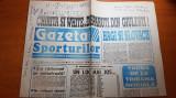 ziarul gazeta sporturilor 27 octombrie 1994 -articol despre gica hagi