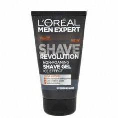 Gel pentru barbierit LOreal Men Expert Shave Revolution Extreme Glide, 150 ml