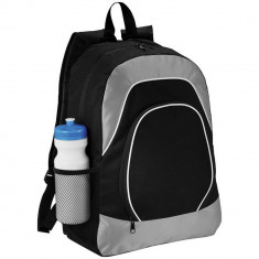 Rucsac Tableta, Everestus, BN, 600D poliester si ripstop, negru, gri, saculet de calatorie si eticheta bagaj incluse