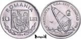 1996, 10 Lei - Windsurfing - Romania