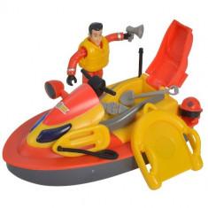 Set Jet Ski Fireman Sam Juno cu Figurina si Accesorii