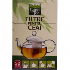 Filtre hartie ceai Land Of Tea 50 buc