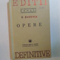 OPERE de G. BACOVIA , 2006