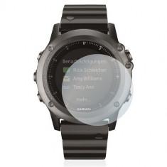 Folie de protectie iUni pentru Smartwatch Garmin Fenix 3 Plastic Transparent