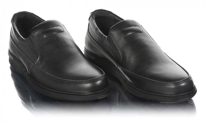 Pantofi barbati din piele naturala Dr.Jells-0324-F308-N