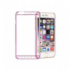 Husa Capac Astrum MC130 Apple iPhone 6/6S Pink Swarovski