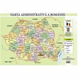 Harta Administrativa a Romaniei - Plansa A2