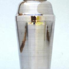 Art Deco cocktail shaker placat cu argint Carl Deffner Nr. 94 - circa 1930