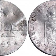 1849 - C - 6 kreuzer - Franz Joseph I - Imperiul Austriac