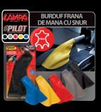 Burduf frana de mana cu snur Lampa - Galben - CRD-LAM05054 Auto Lux Edition
