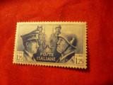 Timbru Italia 1941 - Hitler si Musolini , val. 1,25Lire