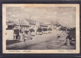 REGHIN  REGHINUL  SASESC  PIATA  PRINCIPALA  CIRCULATA  1911CIRCULATIE MILITARA, Printata