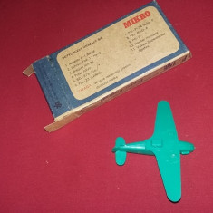 Macheta Aeromodel vechi POLONEZ,plastic(de)construit,ambalaj original,T.GRATUIT