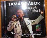 Tamas Gabor Best Of Jatszuk El Ujra 2Cd audio Utopia Studio 2014 cu autograf