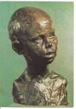 carte postala-Constantin Brancusi-Bust de copil